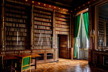 Library of the Palais Compiègne