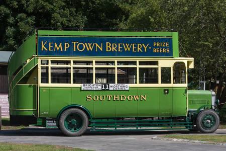 Vintage old bus