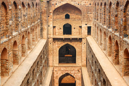 Agrasen Ki Baoli Well