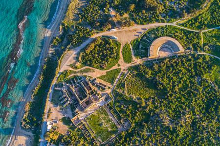 Ruines de l'ancienne ville de Salamine