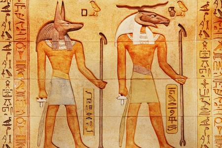 Image of Egyptian gods
