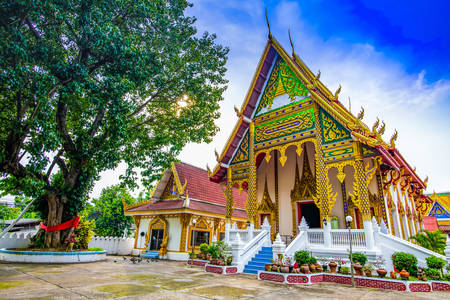 Temples of Lampang province