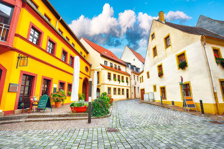Architecture of the city of Torgau