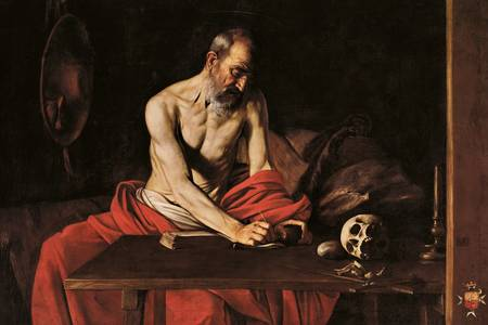 "Caravaggio: ""St. Jerome"""