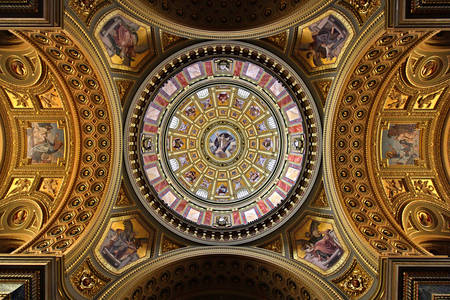 Dome of St. Stephen's Basilica
