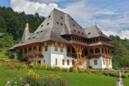 Kláštor Barsana v Rumunsku