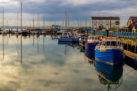 Harbor at Carrickfergus
