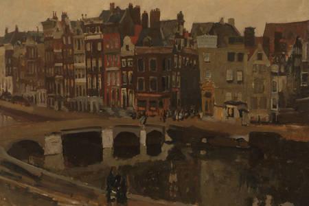 """George Hendrik Breitner: """"Rokin, Amsterdam"""""""