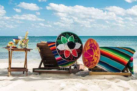 Praznici na plaži u blizini Karipskog mora