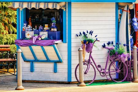Lavendel souvenirwinkel