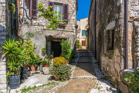 Streets of Castro dei Volsha