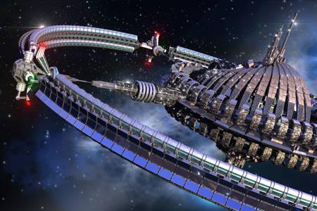Mimozemská vesmírna loď