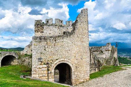 Berat castle ruins