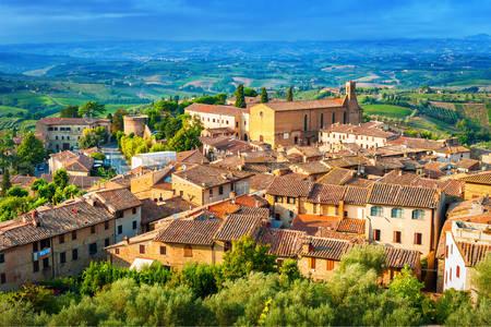 Casco antiguo de San Gimignano