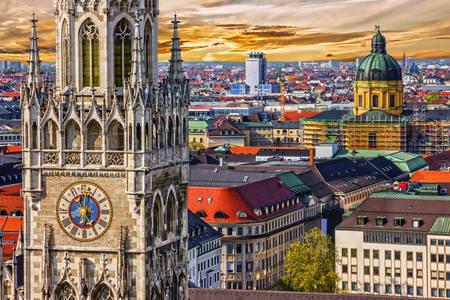 Дахи Мюнхена
