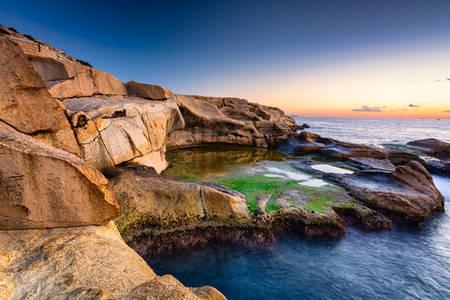 Malta's rocky coastline