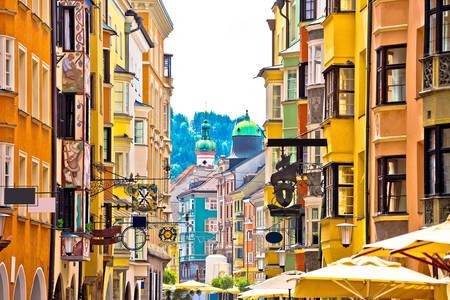 Ulica v Innsbrucku