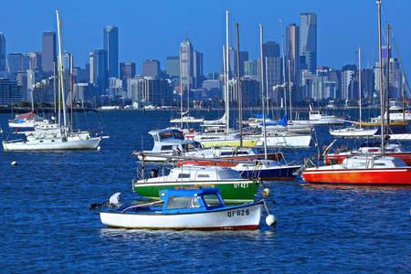 Melbourne manzarası
