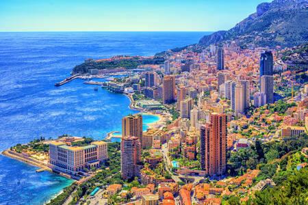 Paesaggio urbano di Monte Carlo