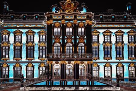 Palast von Katharina II. In Puschkin