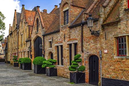 Street in old Bruges
