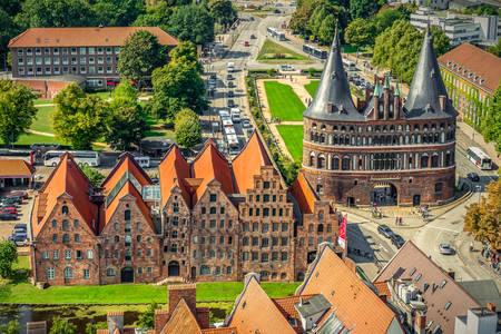 The historic city of Lubeck