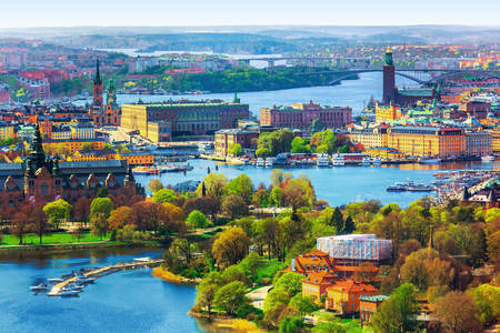 Panorama Stokholma