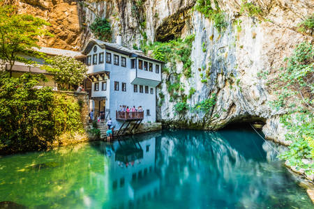 Tekiya in Blagaj