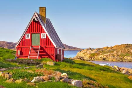 Case din sudul Groenlandei