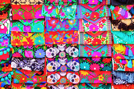 Mexican handmade wallets