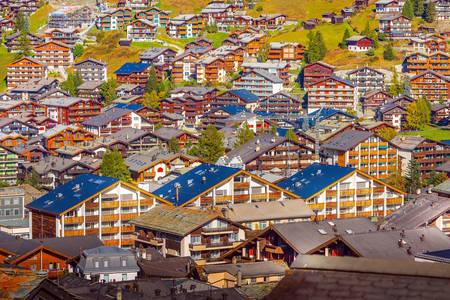 Zermatt Architektur