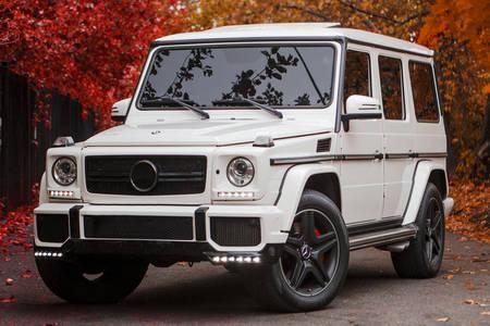 White SUV
