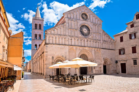 Cathedral of St. Anastasia in Zadar