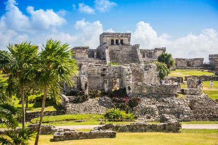 Mayské ruiny