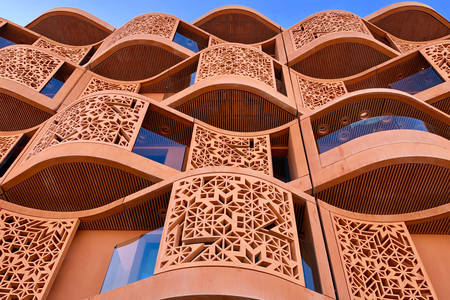 Building in Masdar City