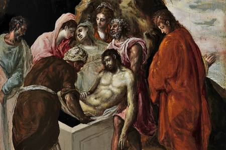 "El Greco: ""Burial of Christ"""