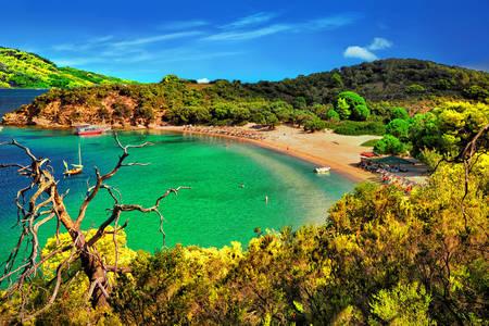 Zatoka w Grecji