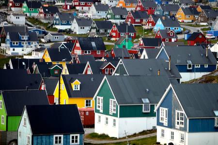 Houses in Nuuk