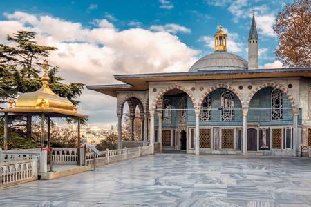 Baghdad Pavilion at Topkany Palace