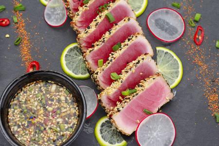Sesame Breaded Tuna