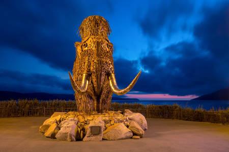 Skulptura mamuta u Magadanu