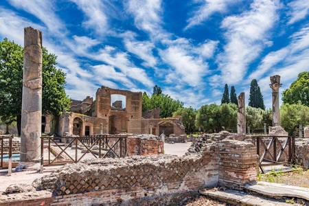 Villa Hadrian v Tivoli