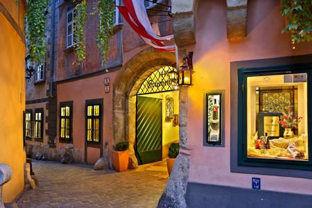 Inn in Vienna