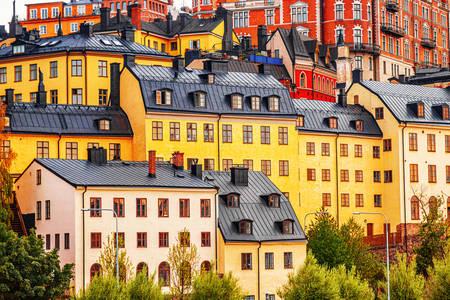 Architektúra domu v Štokholme