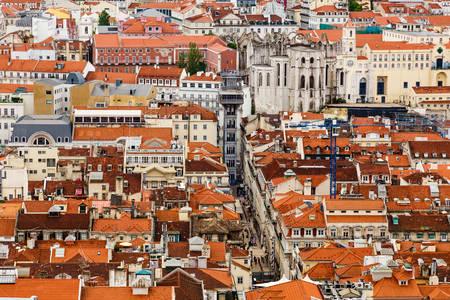 Lissabon daken