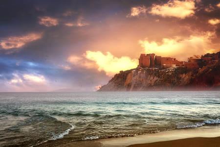 Okyanus günbatımı