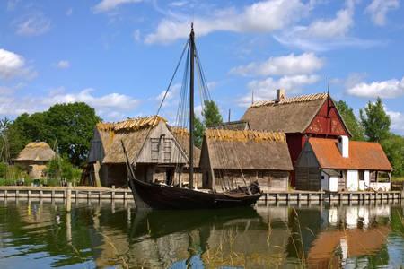 Middeleeuws dorp