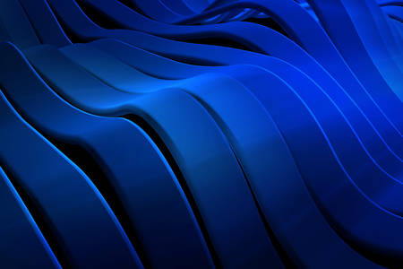 3D Abstraction: Wavy lines