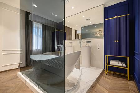 Dizajn enterijera u kupatilu