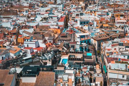 Seville rooftops